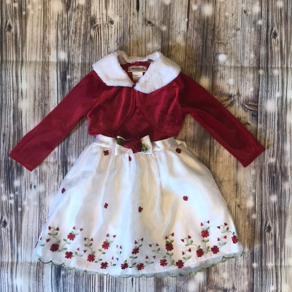 Toddler Christmas Dress.Gorgeous Toddler Christmas Dress